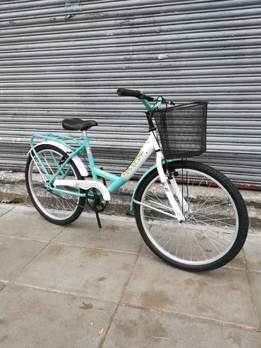 bicicleta paseo rodado 24 varios colores armada