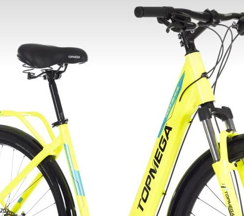 bicicleta paseo urbana topmega moonshine r 28 dama amarillo