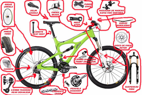 bicicleta peças aerobikeshop promoção orçamento e venda