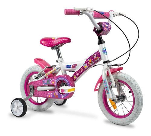 bicicleta peppa pig r12 nena rayos 121802