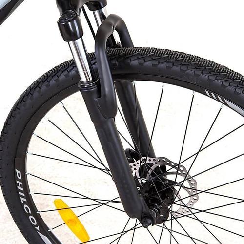 bicicleta philco escape r27,5 aluminio freno disco 21v shimano