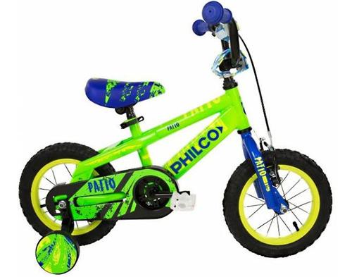 bicicleta philco kids  patio 12m varon