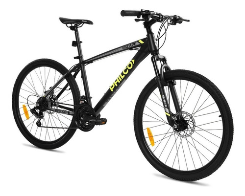 bicicleta philco mountain bike escape 26 21v