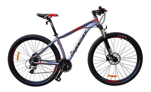 bicicleta phoenix 29 kx690 modelo pro discos hidr. aluminio