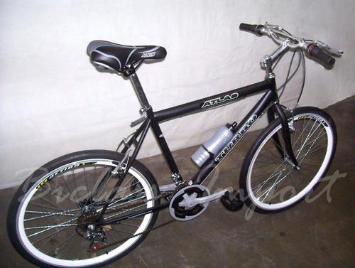 bicicleta pistera  ultra liviana accs aluminio 18 cambios
