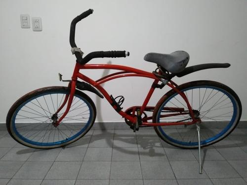 bicicleta playera freno contrapedal rodado 26
