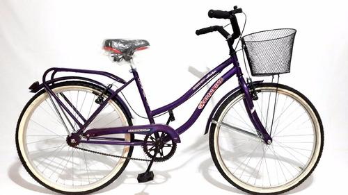 bicicleta playera full rodado 26 dama la mejor! precio unico