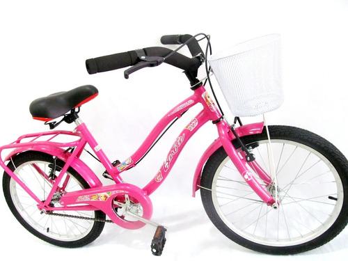 bicicleta playera halley full rodado 20 dama