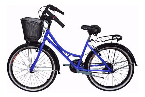 bicicleta playera rin 26 cambios tipo moto 18 vel vintage