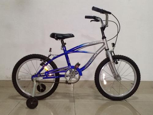 bicicleta playera rod. 16 c/ rueditas (no se realizan envios