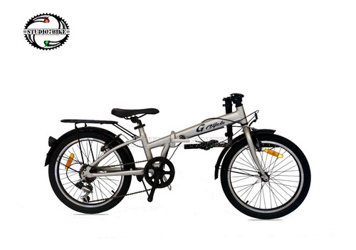 bicicleta plegable de aluminio unisex - nuevas
