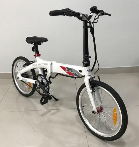 bicicleta plegable eléctrica beta b-52 b52 0km 2018 999motos