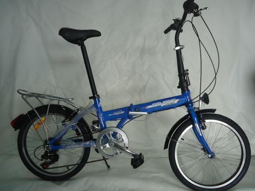 bicicleta  plegable en aluminio rin 20