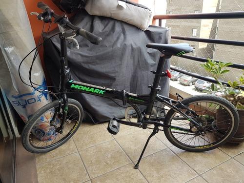 bicicleta plegable monark.