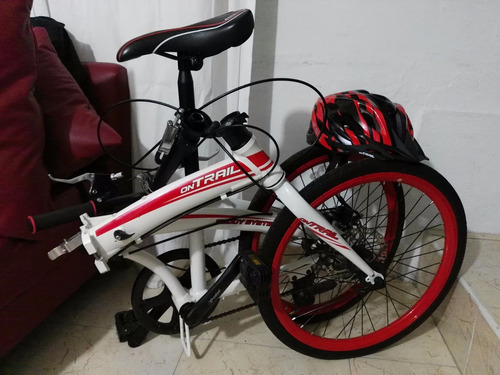 bicicleta plegable ontrail aluminio.
