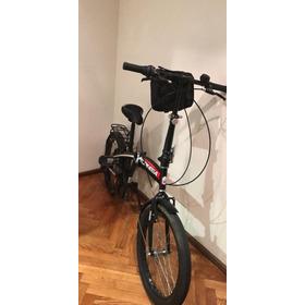 Bicicleta Plegable Topmega Con Cambios Nueva