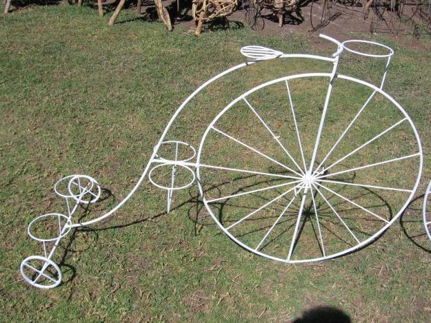 Fotos la maceta el hierro casa dise o - Bicicleta macetero ...