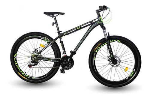 bicicleta profit x10 hidráulica 7 vel suspensión bloqueo