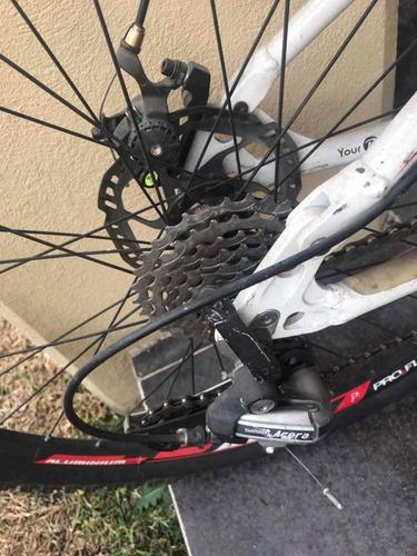 bicicleta proflex para caballero con frenos de disco