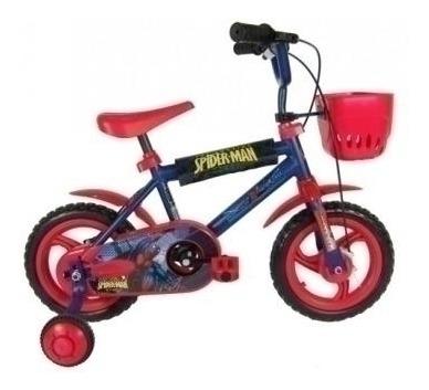 bicicleta r12 spider man lny 124011 loonytoys