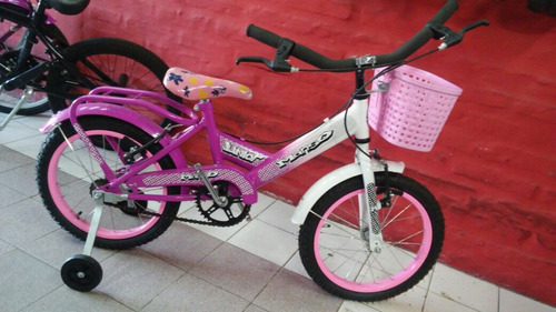 bicicleta r15 nena full nueva  la más linda