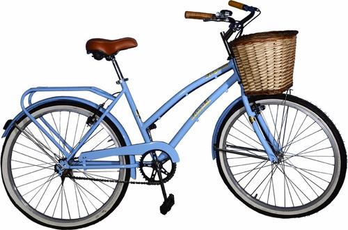 bicicleta r26 dama vintage c/porta paqu y timbre fabricantes
