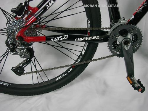 bicicleta  r27.5 mazzi 27v frenos hidráulicos shimano