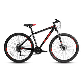 Bicicleta Raleigh De Hombre Pride M Aro 27.5 Negro/rojo