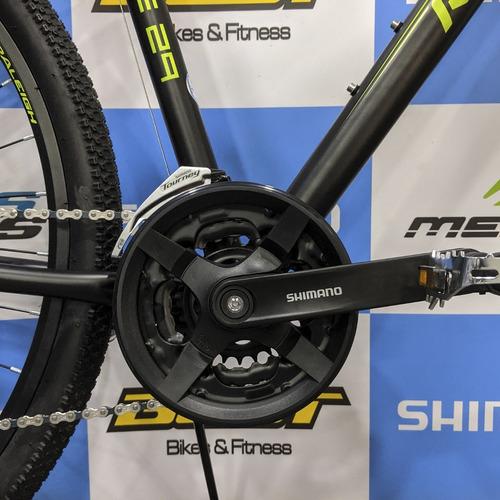 bicicleta raleigh de hombre pulse aro 29 negro/verde