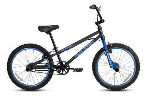 bicicleta raleigh de niño bold aro 20 negro/azul