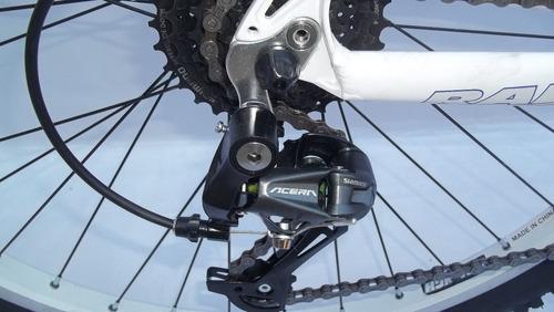 bicicleta raleigh mojave 4.5 mtb alumin 24 vel acera nuevas