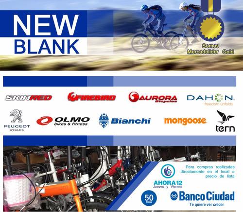 bicicleta raleigh r20 mxr aluminio. new blank belgrano