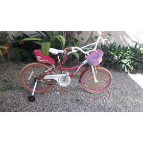 Bicicleta Raleigh Rodado 20 Con Rueditas