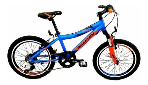 bicicleta raleigh rowdy r 20 varon niño alum 7 vel a12 fas m