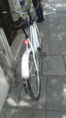 bicicleta raleigh tipo chopera de aluminio rodado 26 de dama
