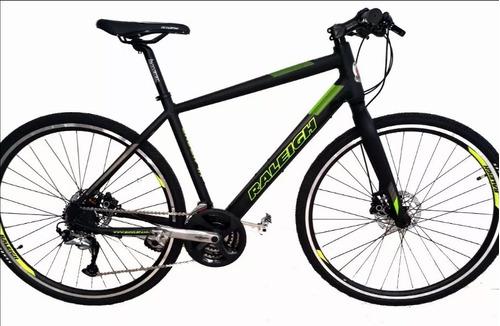 bicicleta raleigh urban 1.1 r28 híbrida 24v frenos a  disco