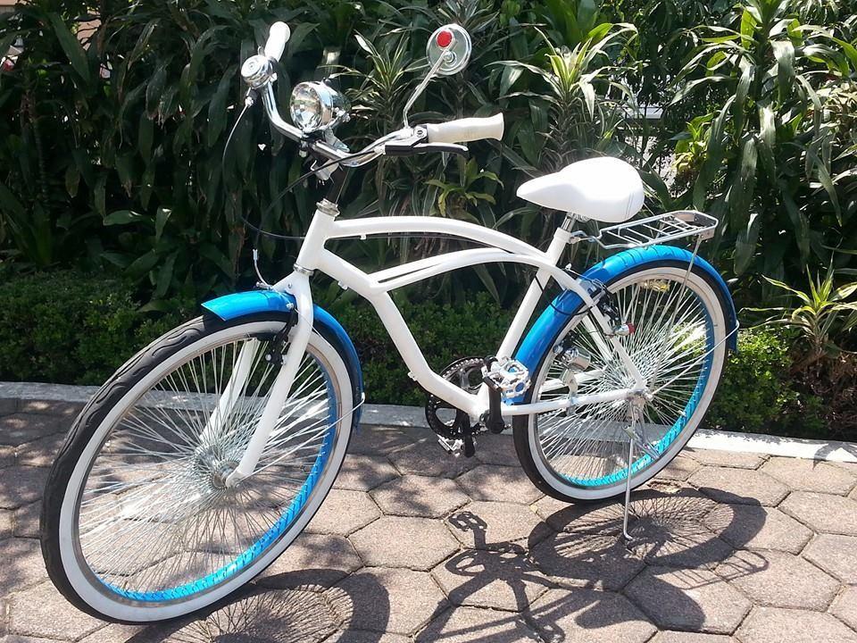 Bicicleta retro dama y caballero cafe varios colores - La bici azul ...
