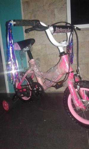 bicicleta rin 12 niña y niño nuevas