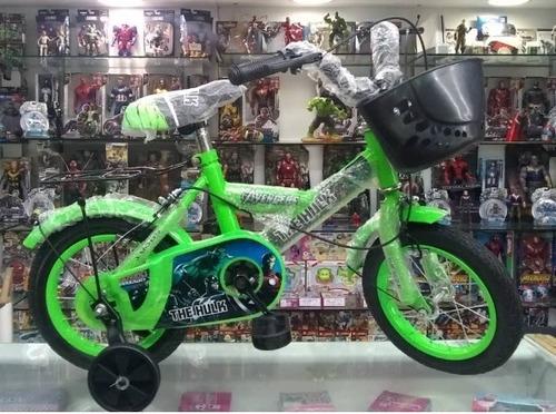 bicicleta rin 12 y 16 para niñas y niños sabana grande