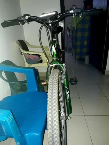 bicicleta rin 20 color verde