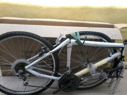 bicicleta rin 26 color: verde totalmente nueva de caja