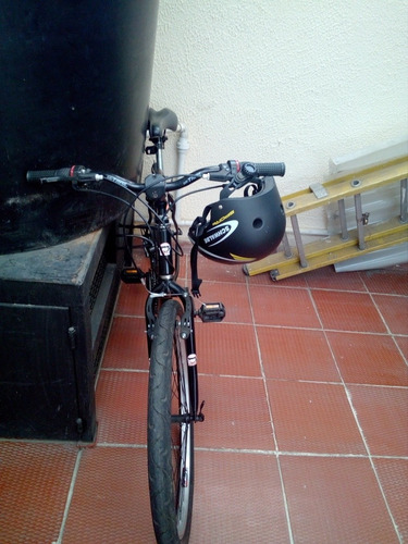 bicicleta rin 26 con el casco