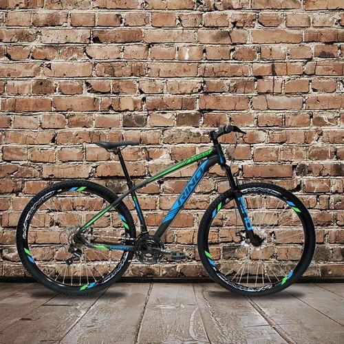 bicicleta rino everest 29 freio disco 21v câmbios shimano