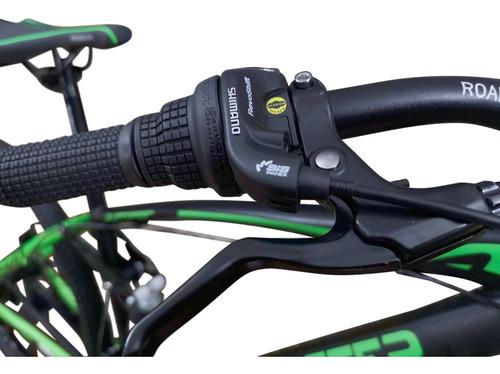 bicicleta roadmaster jumper 27,5 shimano f.disco 21v + luce