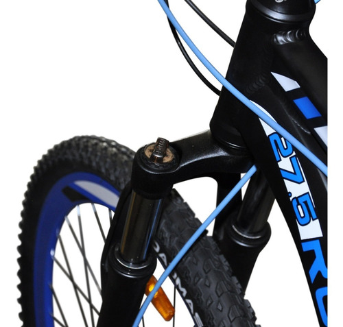 bicicleta roadmaster storm 27,5 f.disco + luces + maletin