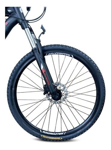 bicicleta roadmaster wind 29 shimano + luces + maletin
