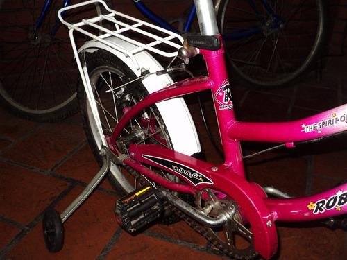 bicicleta rod 14 robinson  muy poco uso