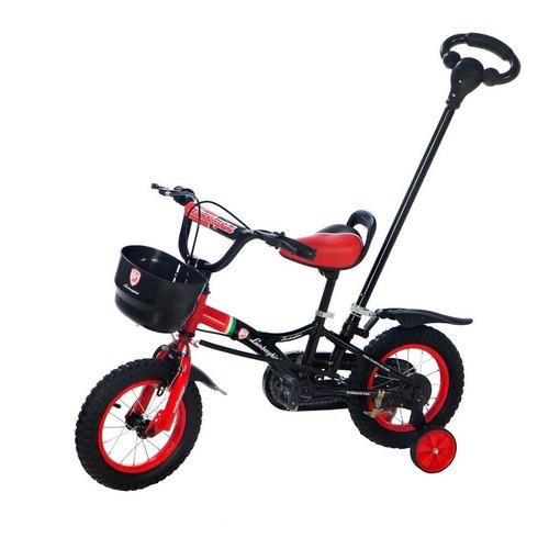bicicleta rodado 12 manija empuje lamborghini babymovil