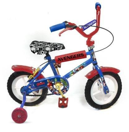 bicicleta rodado 12 marvel l012 mm