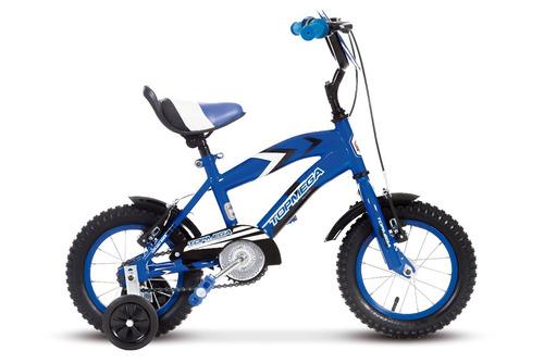 bicicleta rodado 12 nene cross varon top mega